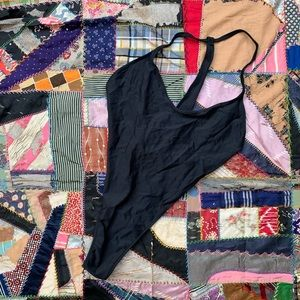 Vintage JAG high cut one piece bathing suit